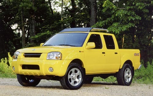2001 Nissan Frontier 2dr  exterior #1