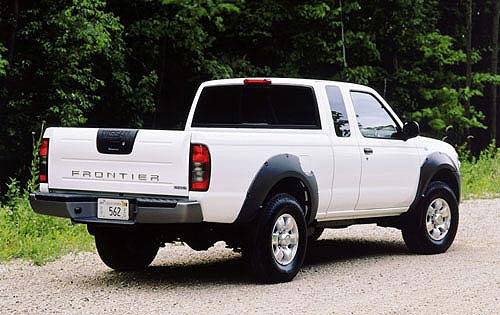 2001 Nissan Frontier 2dr  exterior #11