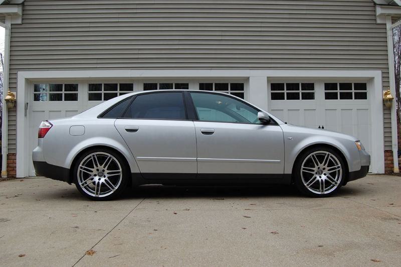 2002 Audi A4 Silver 200 Interior And Exterior Images
