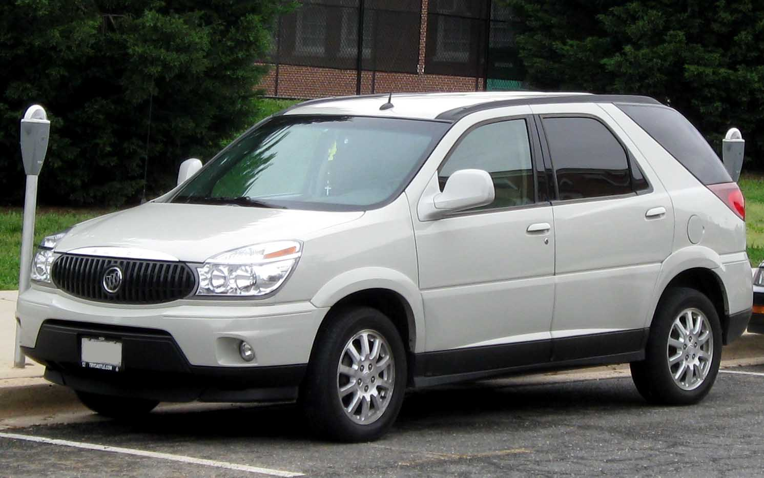 2002 buick rendezvous information and photos zombiedrive. Black Bedroom Furniture Sets. Home Design Ideas