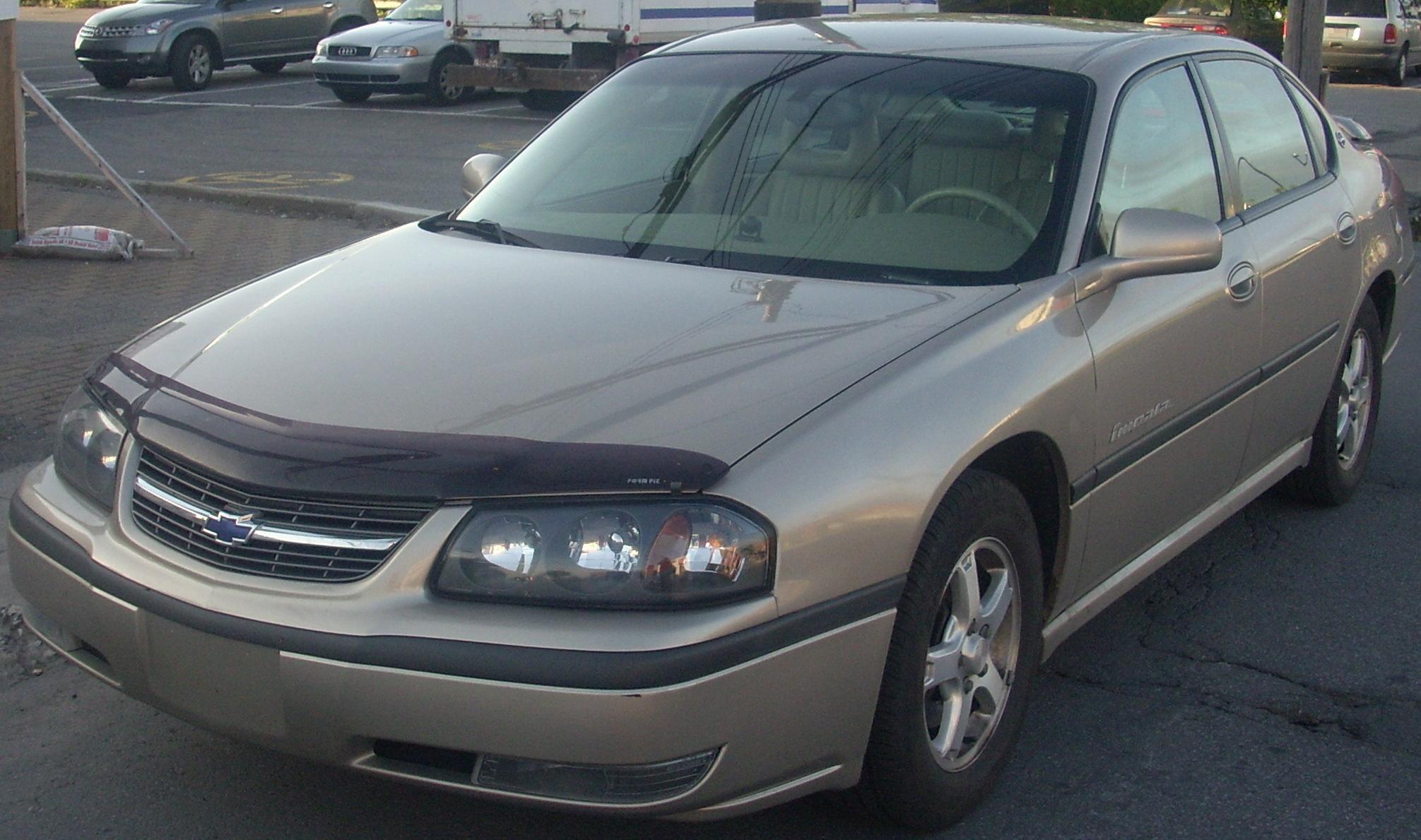 2002 Chevrolet Impala #16 Chevrolet Impala #16