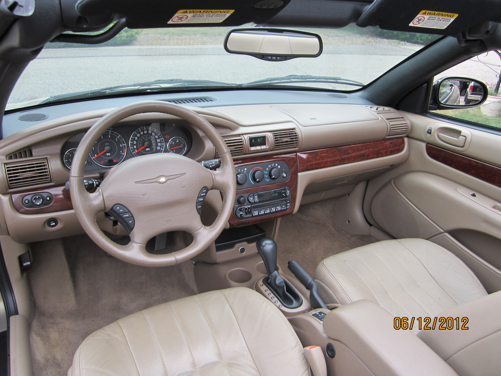 2002 Chrysler Sebring  Information and photos  ZombieDrive