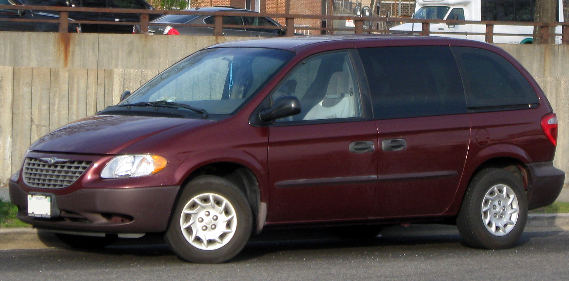2002 chrysler voyager information and photos zombiedrive. Black Bedroom Furniture Sets. Home Design Ideas