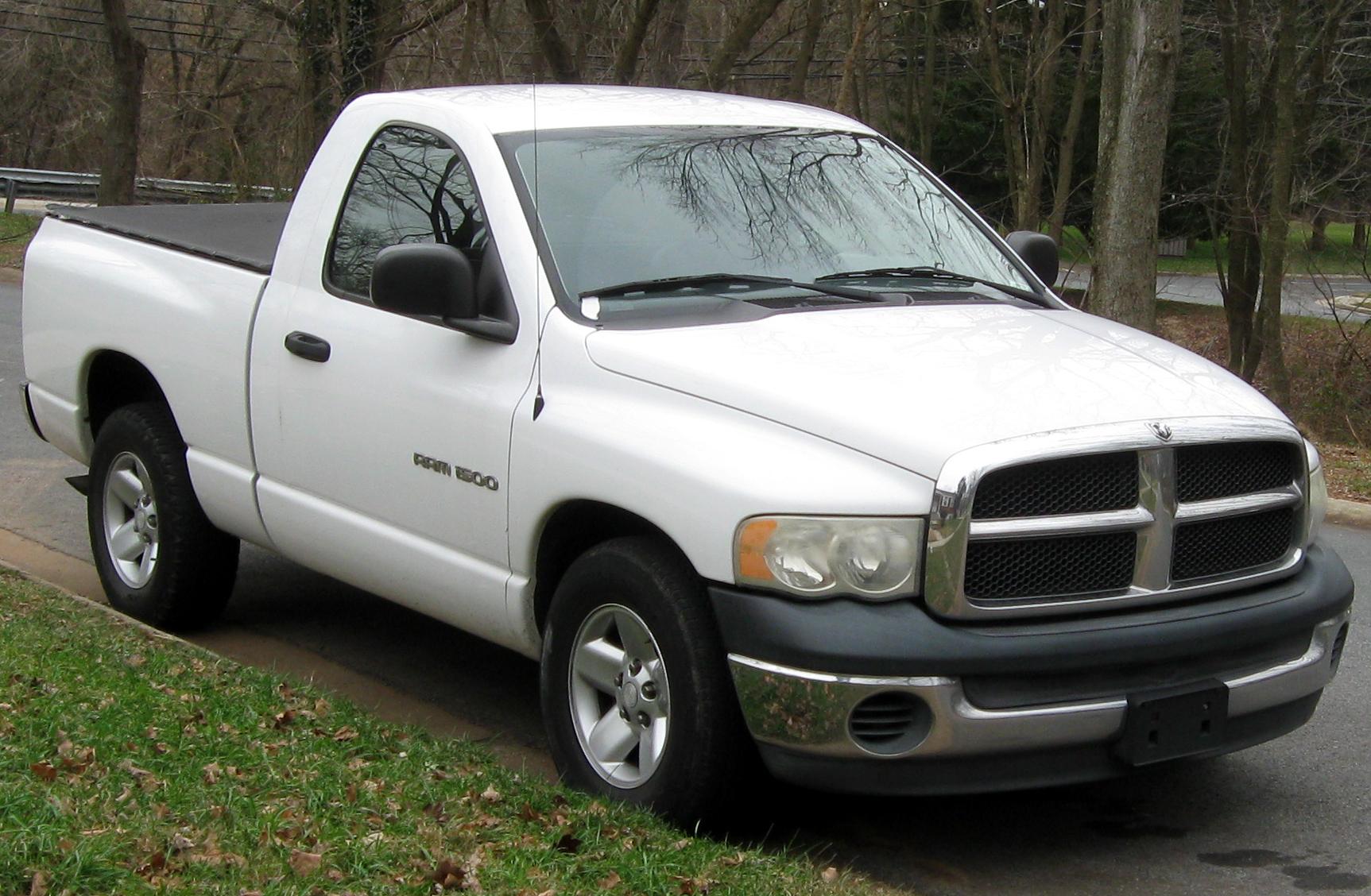 dodge ram pickup 2500 12