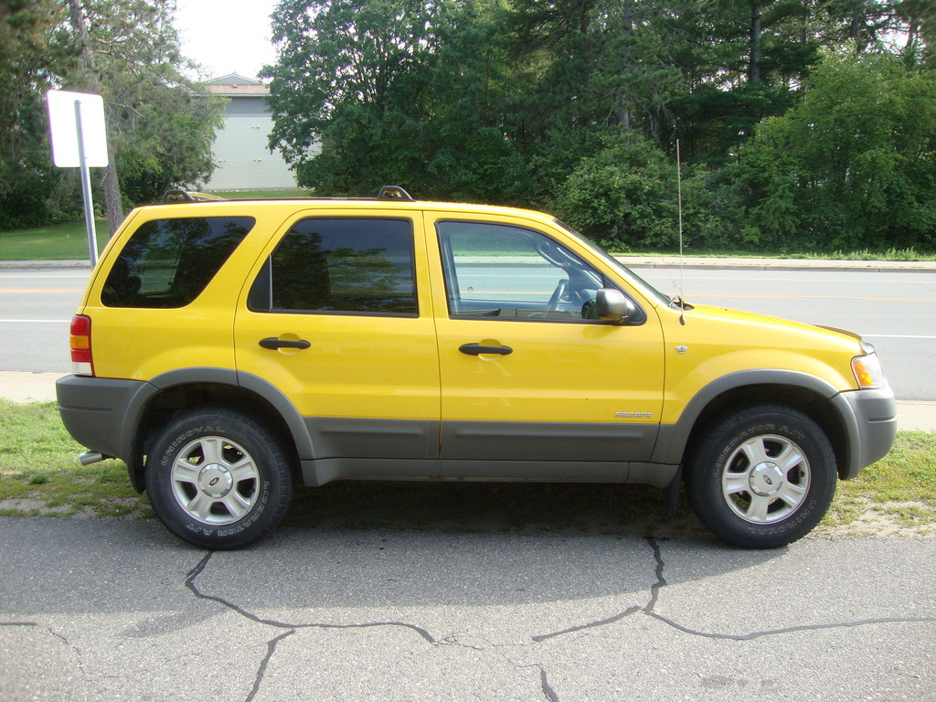 2002 Ford Escape Information And Photos Zombiedrive