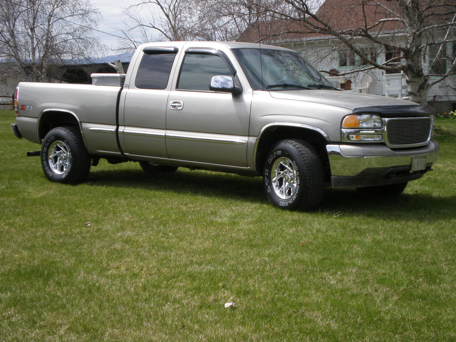 2002 gmc sierra 2500 information and photos zombiedrive. Black Bedroom Furniture Sets. Home Design Ideas
