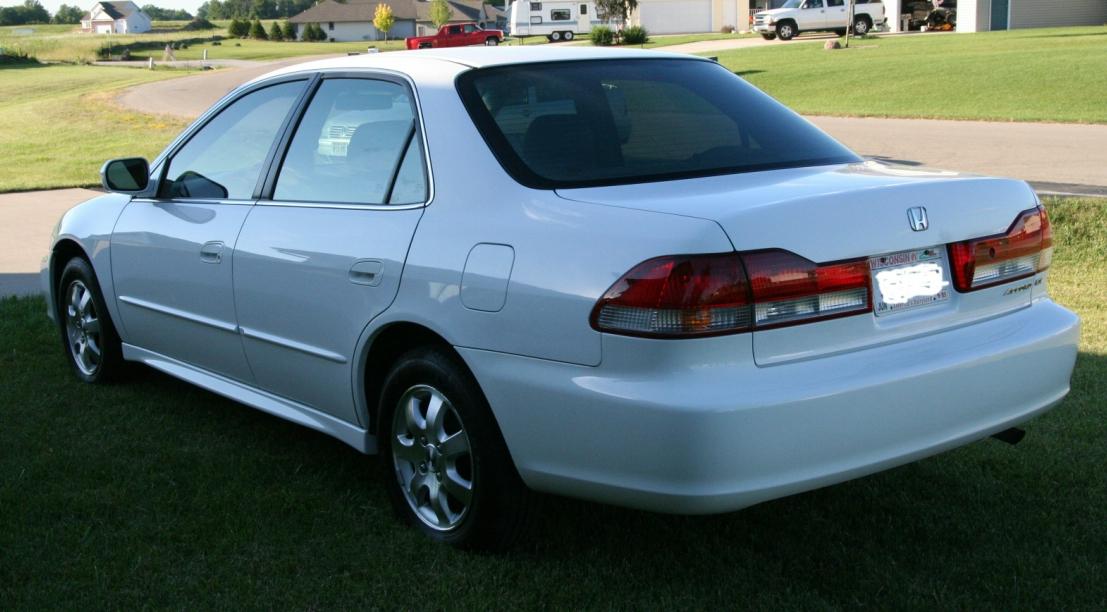 2002 Honda Accord - Information and photos - ZombieDrive
