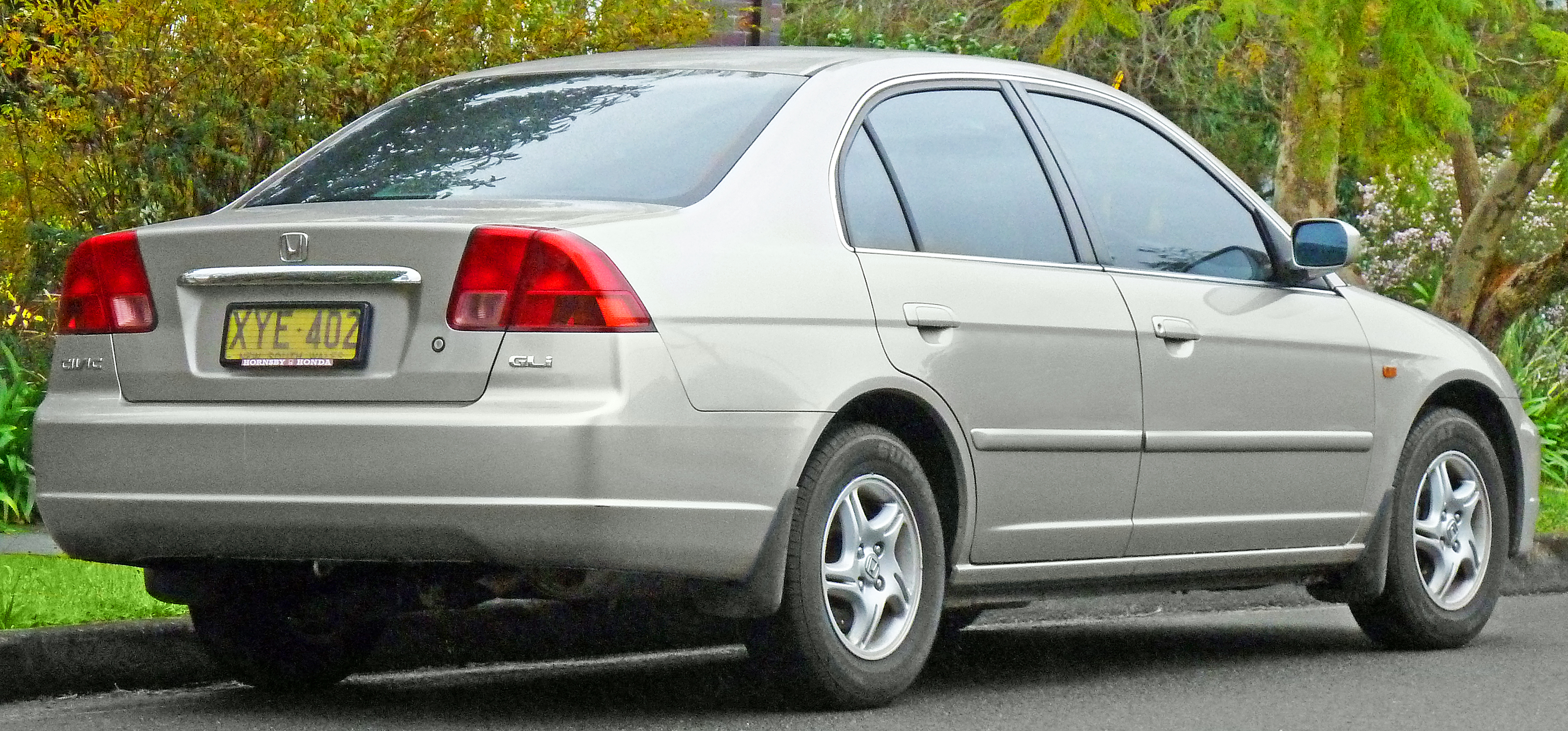 2002 Honda Civic  Information and photos  ZombieDrive