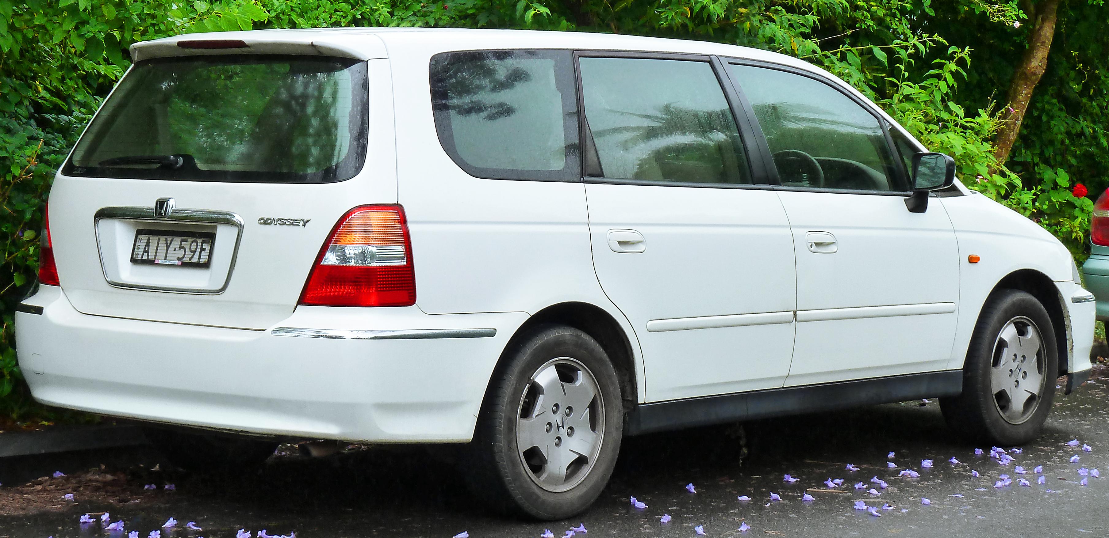 2002 Honda Odyssey 2