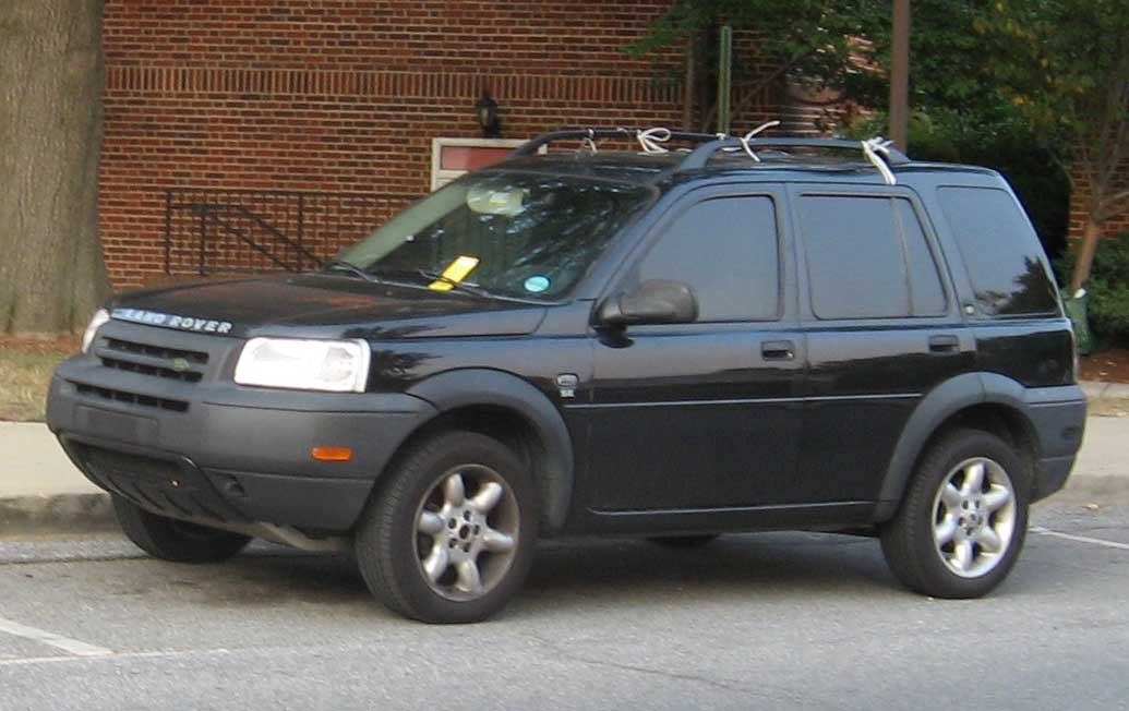 2002 Land Rover Freelander - Information and photos - ZombieDrive