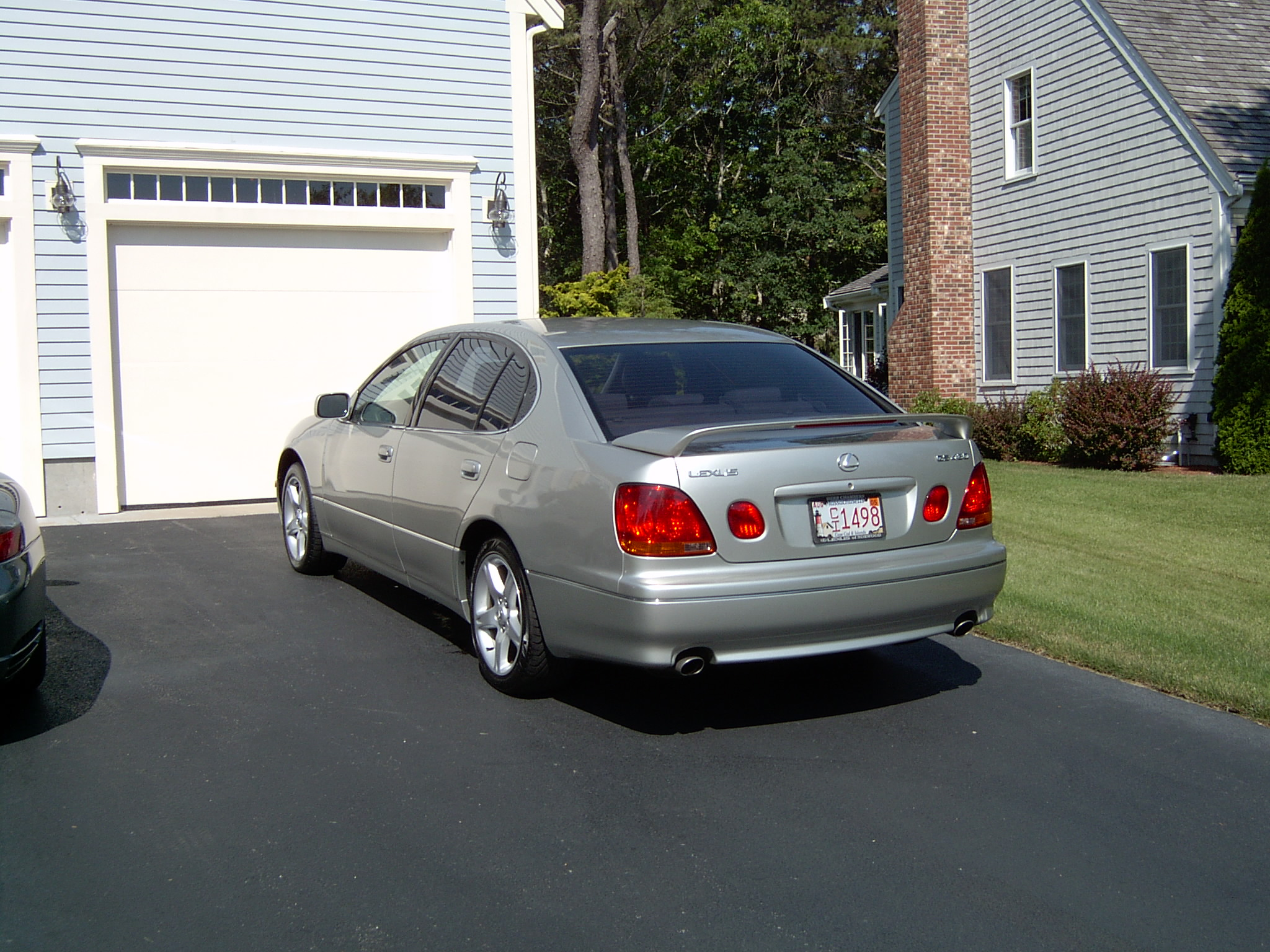 2002 lexus gs 430 information and photos zombiedrive. Black Bedroom Furniture Sets. Home Design Ideas