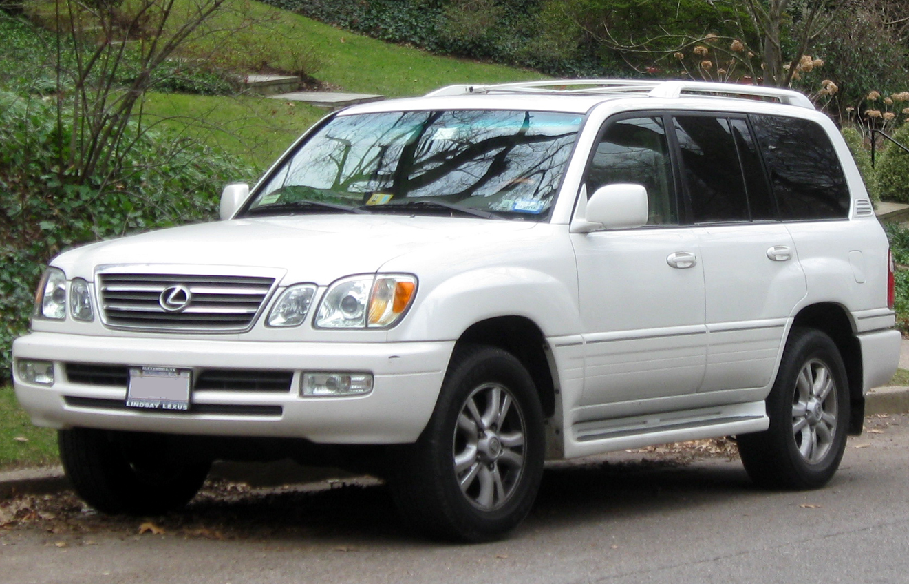 2002 Lexus LX 470 - Information and photos - ZombieDrive