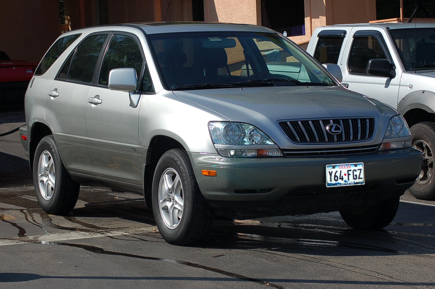 Lexus Rx >> 2002 LEXUS RX 300 - Image #7