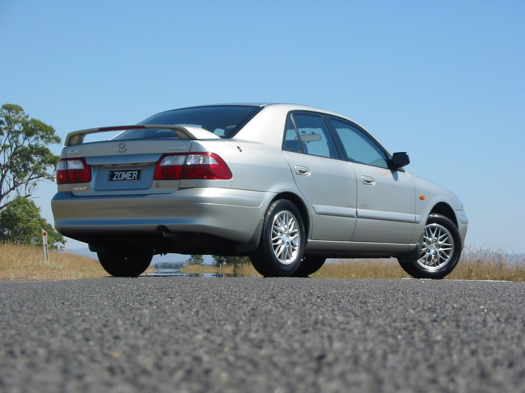 2002 Mazda 626 - Information and photos - ZombieDrive