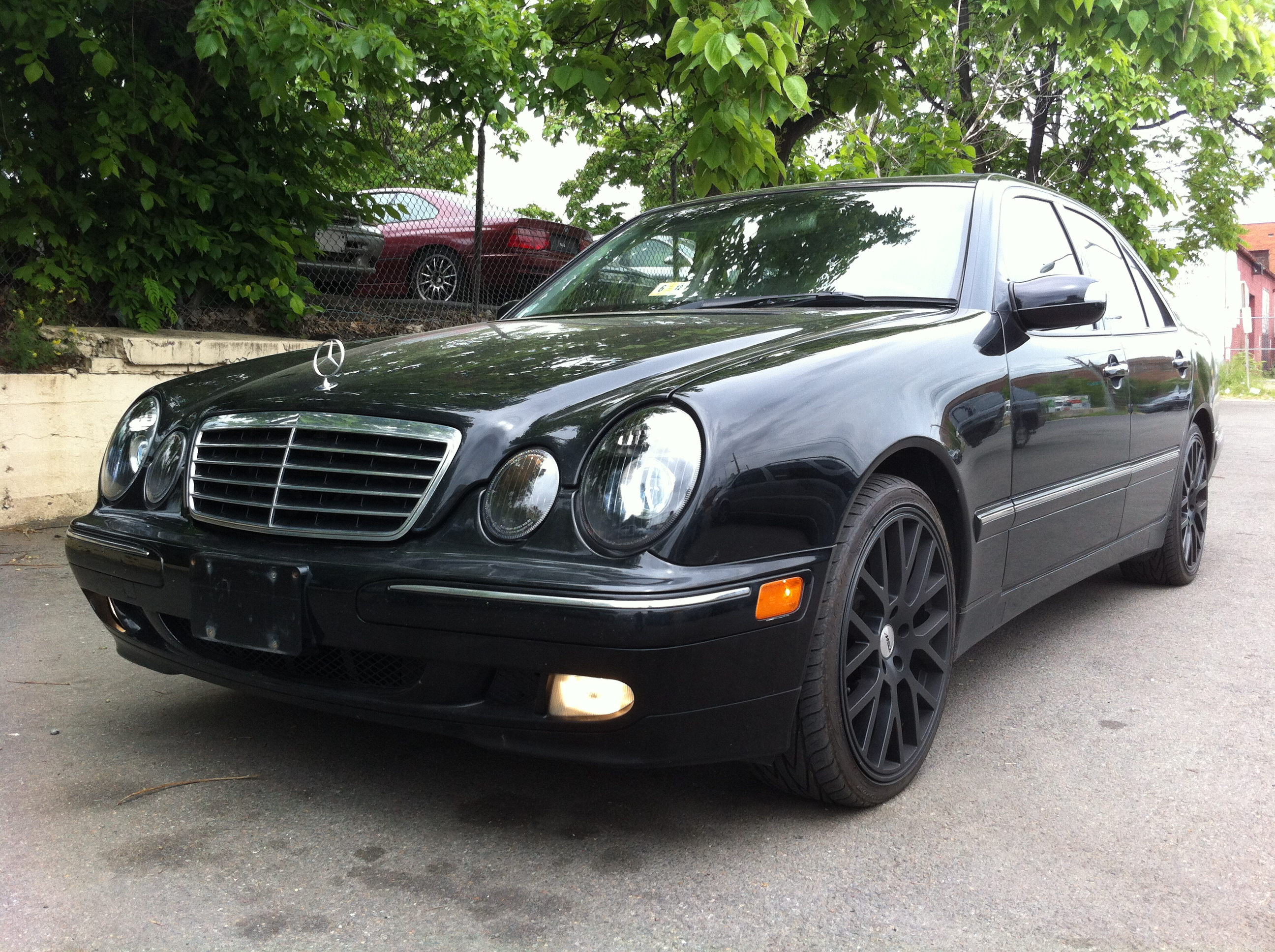 2002 mercedes benz e class information and photos zombiedrive. Black Bedroom Furniture Sets. Home Design Ideas