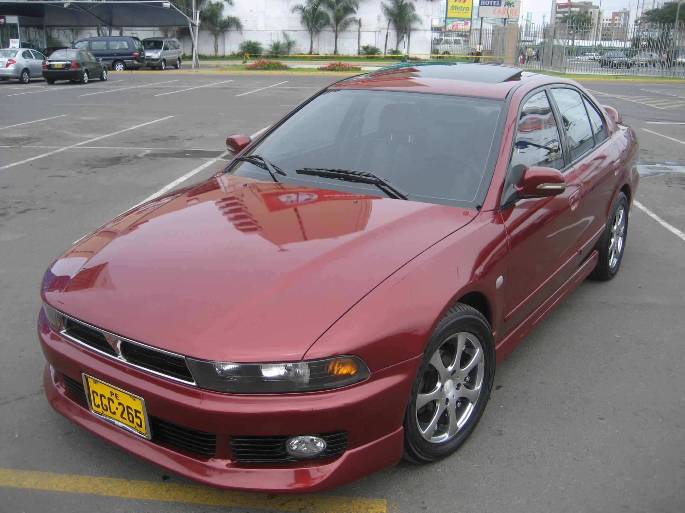 2002 mitsubishi galant information and photos zombiedrive. Black Bedroom Furniture Sets. Home Design Ideas