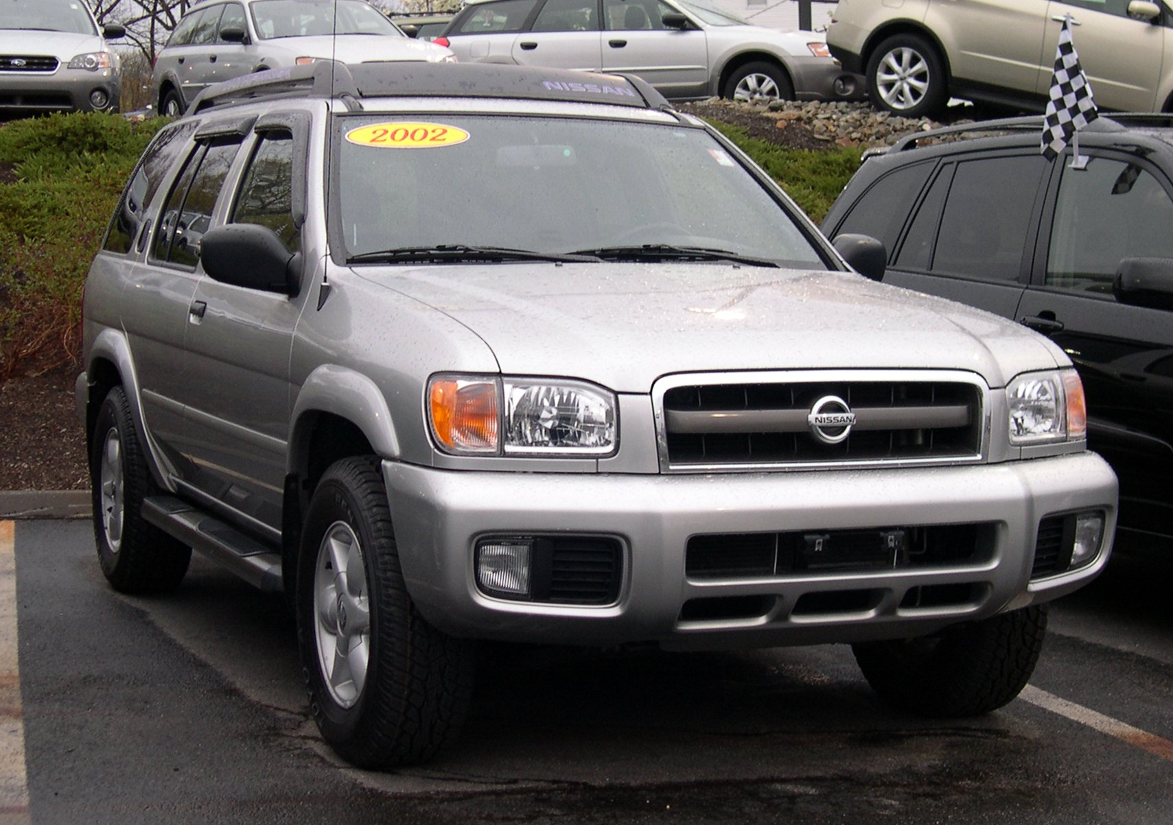 2002 Nissan Pathfinder - Information and photos - ZombieDrive