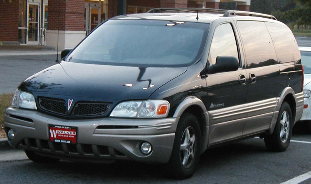2002 Pontiac Montana Image 10