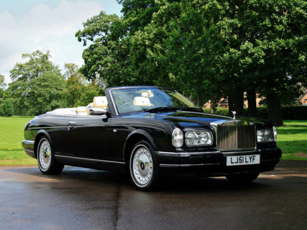 2002 rolls royce corniche information and photos zombiedrive