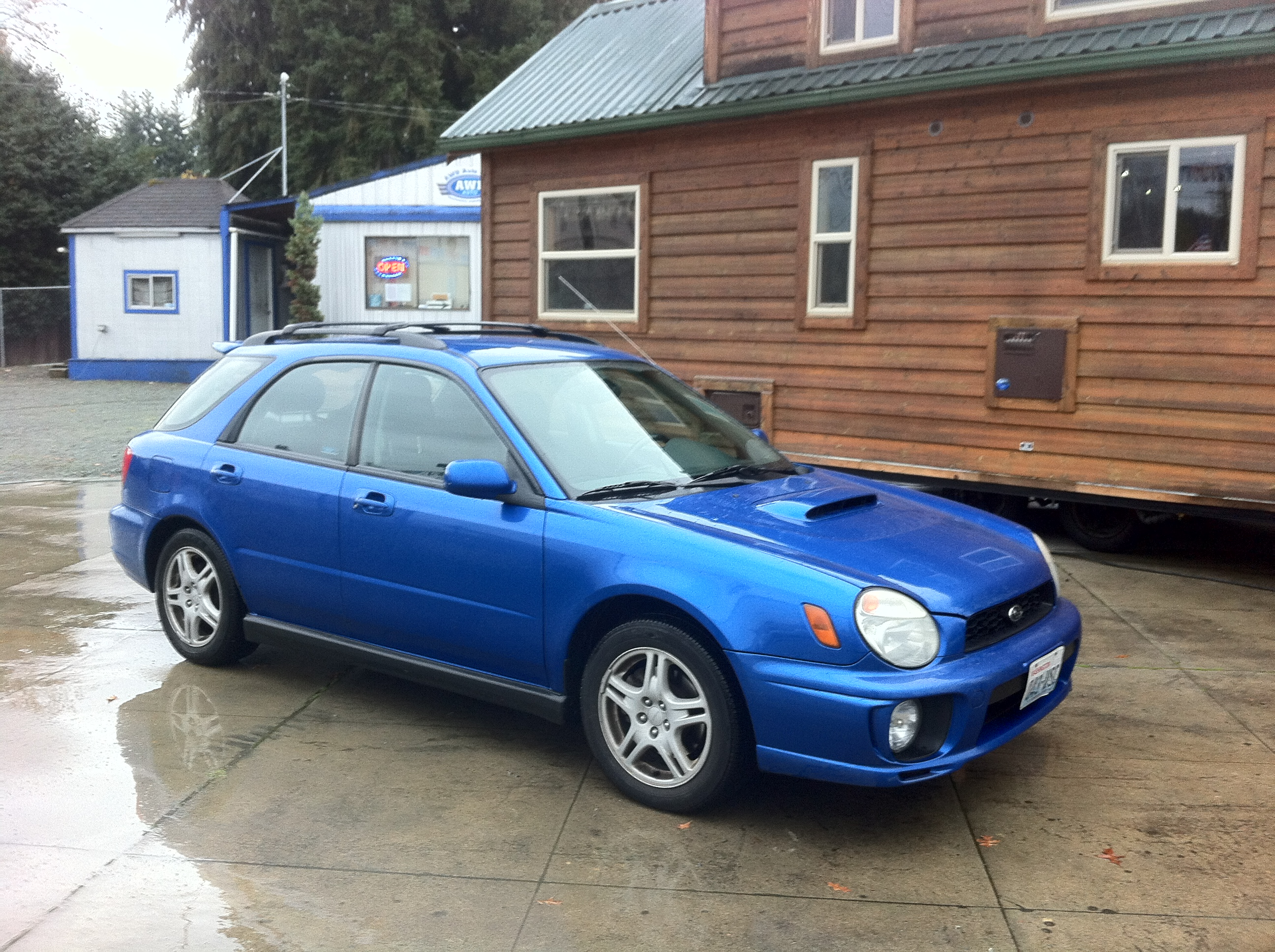 2002 Subaru Impreza - Information and photos - ZombieDrive