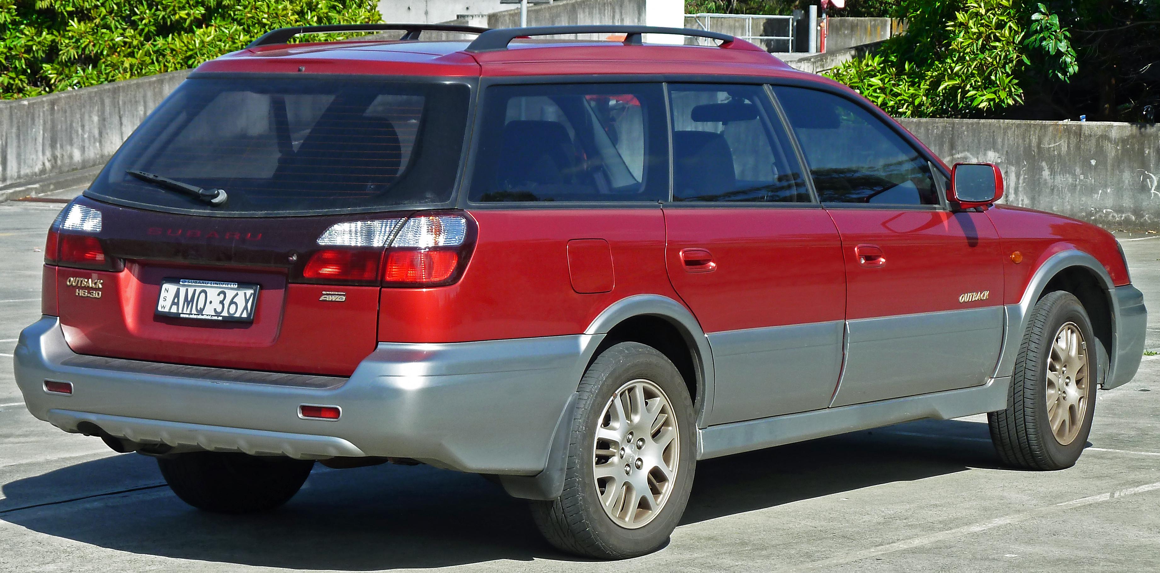 2002 Subaru Outback Image 4