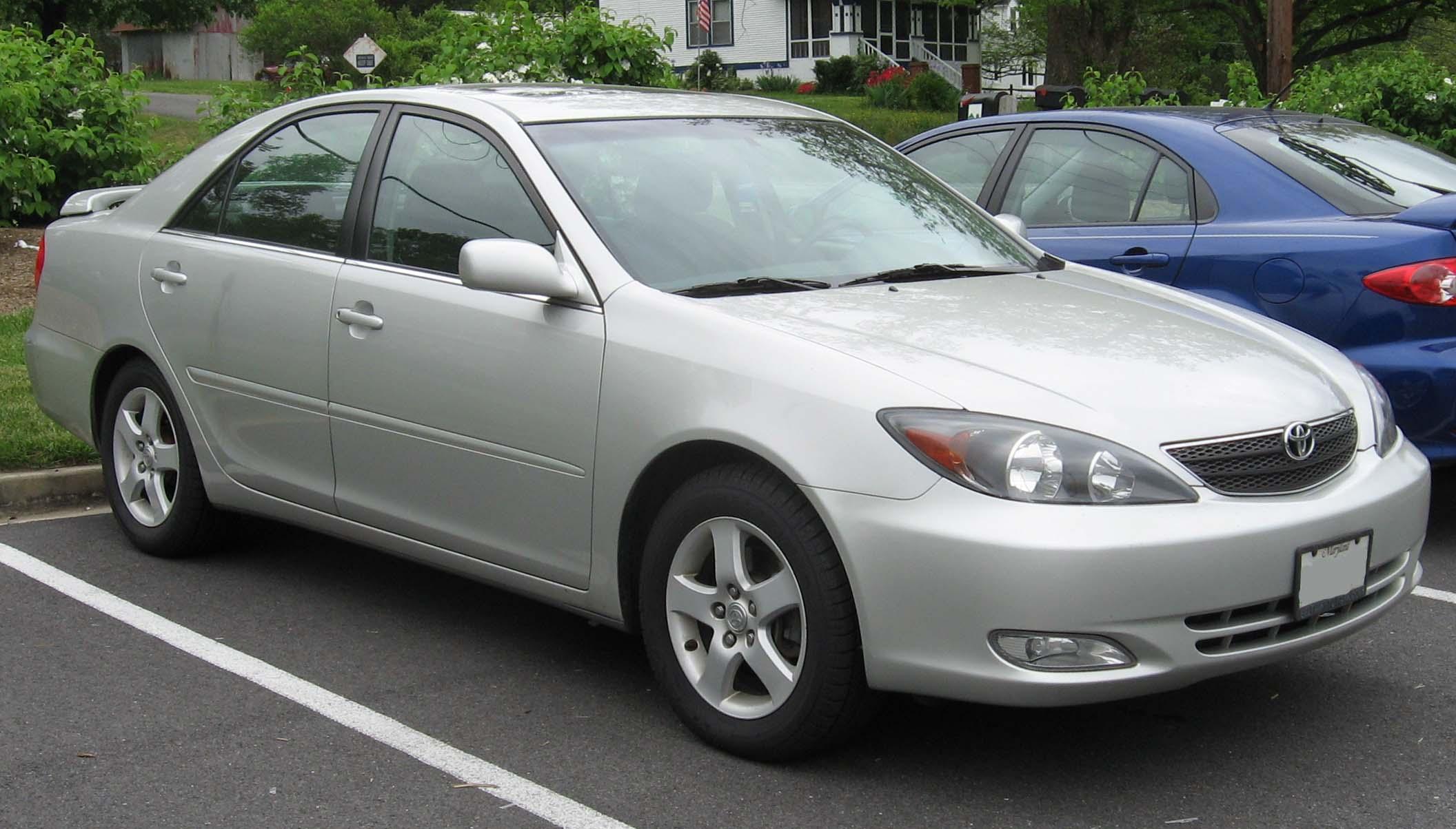 2002 Toyota Camry #8 Toyota Camry #8