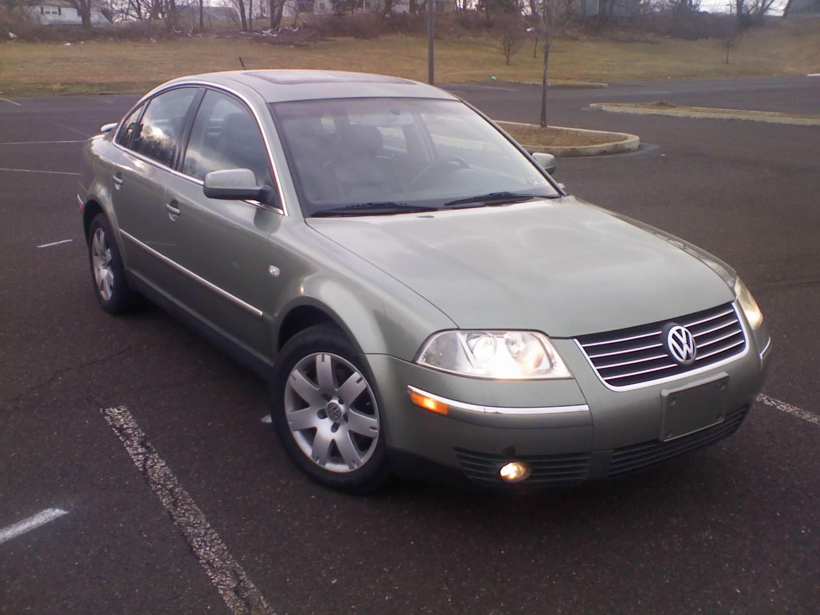 2002 Volkswagen Passat  Information and photos  ZombieDrive