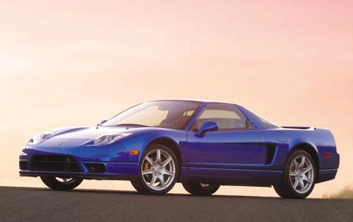 2002 Acura NSX 2dr Coupe  exterior #2