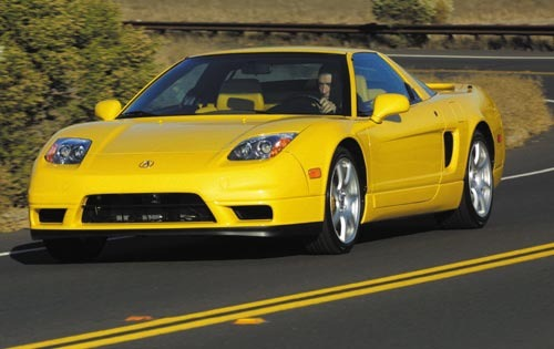 2002 Acura NSX 2dr Coupe  exterior #1