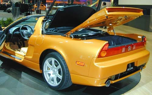 2002 Acura NSX 2dr Coupe  exterior #9