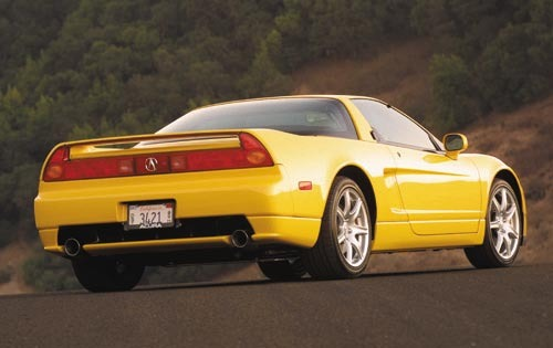 2002 Acura NSX 2dr Coupe  exterior #4
