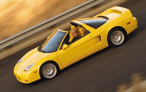 2002 Acura NSX 2dr Coupe  exterior #3