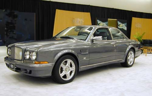 2002 Bentley Continental  interior #3