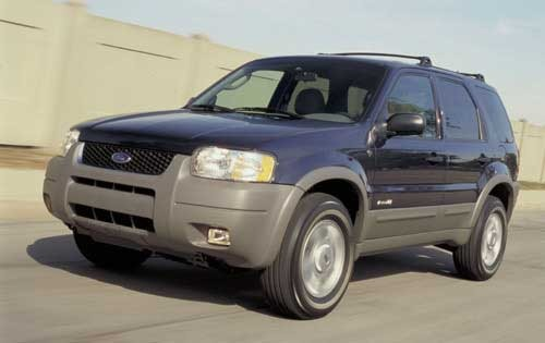 2002 Ford Escape XLT Choi exterior #1