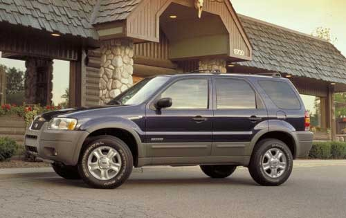 2002 Ford Escape XLT Choi exterior #3