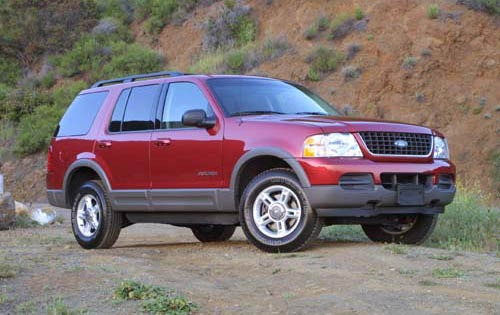 2002 Ford Explorer XLT 2W interior #5