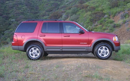 2002 Ford Explorer XLT 2W interior #7
