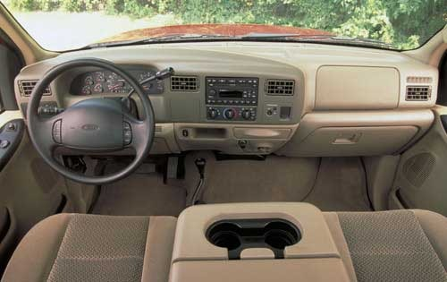 2002 Ford F-350 Super Dut interior #6