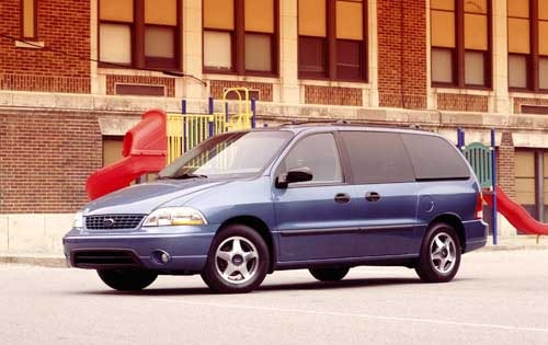 2002 Ford Windstar LX 4dr exterior #1