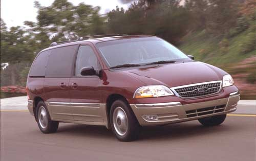 2002 Ford Windstar LX 4dr exterior #2
