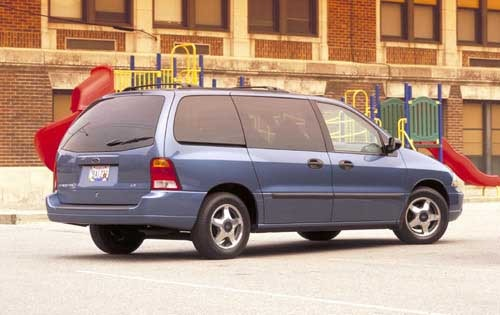 2002 Ford Windstar LX 4dr exterior #3