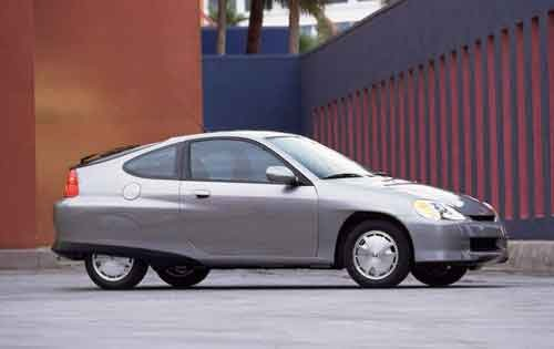 2003 Honda Insight 2dr Ha exterior #2