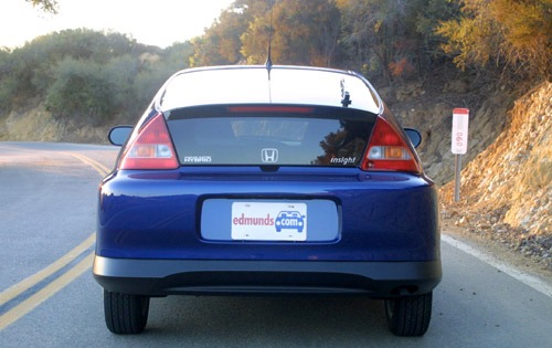 2003 Honda Insight 2dr Ha exterior #10