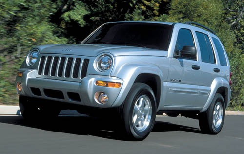 2002 Jeep Liberty Renegad interior #2