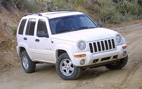 2002 Jeep Liberty Renegad interior #4