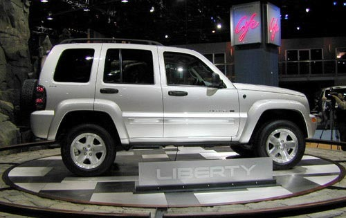 2002 Jeep Liberty Renegad interior #16