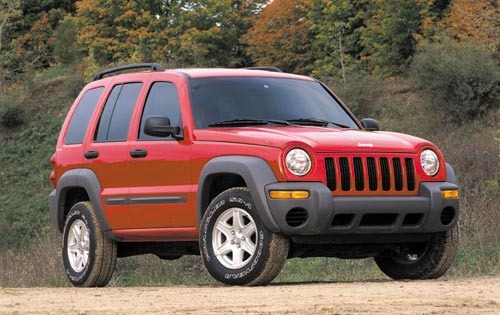 2002 Jeep Liberty Renegad interior #8