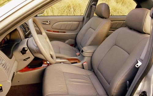 2001 Kia Optima SE V6 Ste interior #12