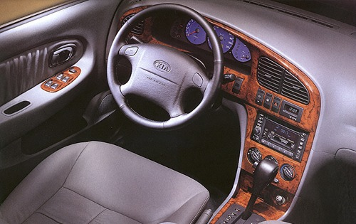 2001 Kia Optima SE V6 Ste interior #14
