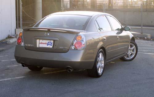 2003 Nissan Altima #9 2002 Nissan Altima 3.5 SE Exterior #9